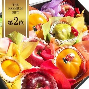 【 贈答用 】 フルーツギフト 中セット 化粧箱入り  ・季節のフルーツを詰め合わせた贈答用フルーツ...