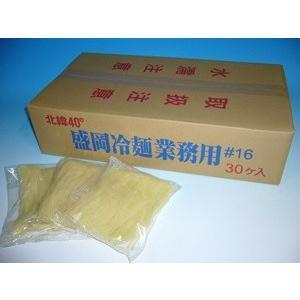 戸田久 冷麺一食業務用麺線16中太麺 160gx30袋