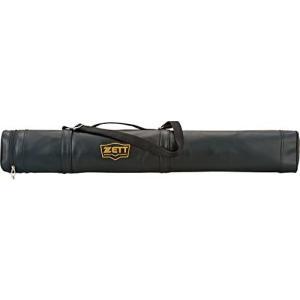 ZETT(ゼット) 野球用 バットケース 2本入 BC772 ブラック(1900) (ブラック)