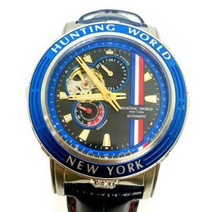 HUNTING WORLD ハンティングワールド HW993 アディショナルタイム 腕時計 自動巻 AT|marujyu78-brand