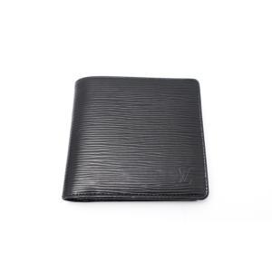 LOUIS VUITTON ルイヴィトン 黒 ノワール エピ ポルトフォイユ・マルコ M63652 財布|marujyu78-brand