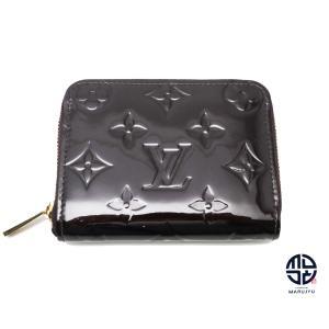 LOUIS VUITTON ルイヴィトン ヴェルニ アマラント ジッピーコインパース M93607 コインケース 財布|marujyu78-brand