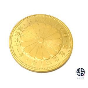 天皇陛下御在位60年記念 10万円金貨 K24 純金 昭和61年 20g marujyu78-brand
