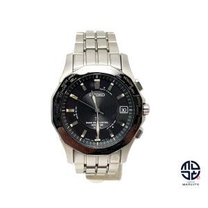 SEIKO セイコー ブライツ 7B25-0AA0 チタン メンズ 腕時計 ソーラー 電波時計|marujyu78-brand