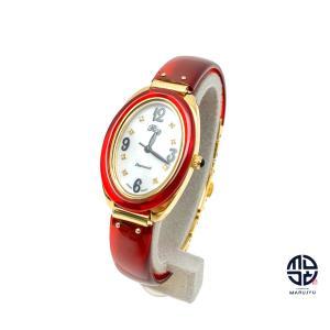 BEKKO べっ甲 鼈甲 ダイヤモンド レディース 腕時計 クオーツ 電池式 長崎 ※べっ甲:着色処理|marujyu78-brand