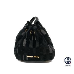 miumiu ミュウミュウ 巾着 ポーチ 小物入れ|marujyu78-brand