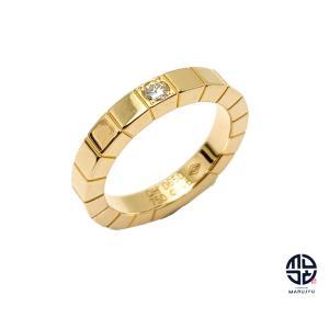 CARTIER カルティエ 750YG 18金イエローゴールド ラニエール ダイヤ リング 指輪 46号 アクセサリー marujyu78-brand