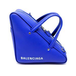 BALENCIAGA バレンシアガ トライアングル ブルー ダッフルS 2WAYショルダーバック|marujyu78-brand