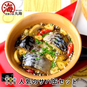 鯖缶 缶詰 鯖缶6ヶ詰合せ 味付 生姜 八丁 水煮 唐辛子 2セット|marukai