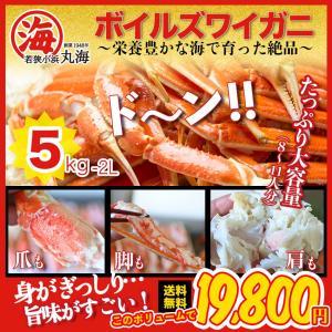 カニ かに 蟹 ズワイガニ ボイルズワイガニ カナダ産 5kg 2L|marukai