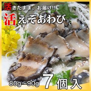活えぞあわび養殖(韓国産)560g(80g〜90g×7個)〔海水入・酸素入〔送料無料〕4種類のカラーレシピと保存方法付|marukatsu-onjuku11