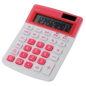 【アウトレット】カラー 小型電卓 ピンク KCL-210-P B7-9914 marukawa-elec