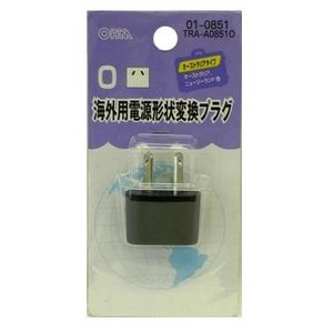 ● 日本の電気製品を海外で使うためのアダプターです。 ● Oタイプ・・・オーストラリア、ニュージーラ...
