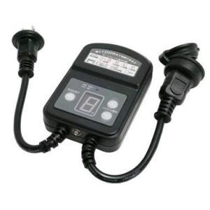 防雨型光センサースイッチ タイマー付き 1200W S-OCDSTM12A B4-8007 marukawa-elec