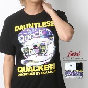 Tシャツ メンズ B ONE SOUL ビーワンソウル 半袖 DUCK DUDE ダックデュード ティーシャツ カットソー|marukawa7