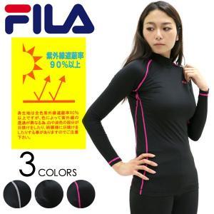 コンプレッション/レディース/コンプレッション/FILA/インナー/ハイネック/吸水速乾|marukawa7