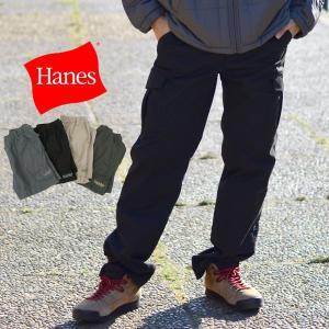 カーゴパンツ メンズ カーゴパンツ ブランド Hanes へインズ イージーパンツ カーゴ 部屋着 ルームウェア|marukawa7