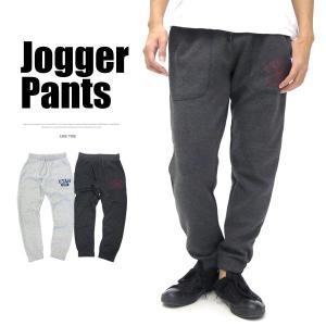 スウェットパンツ/メンズ/スウェットパンツ/ジョガーパンツ/プリント/スエット/テーパードパンツ