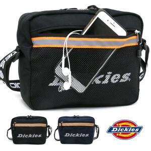 ショルダーバッグ メンズ レディース ミニショルダー 反射 リフレクティブテープ 斜めがけ 小さめ 軽い Dickies ディッキーズ|marukawa7