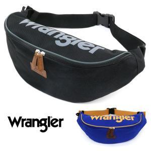 ウエストバッグ メンズ レディース 男女兼用 ウエストポーチ ボディバッグ 大容量 ブラック おしゃれ Wrangler ラングラー|marukawa7