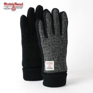 Harris Tweed ハリスツイード 手袋 防寒グローブ ツイード素材