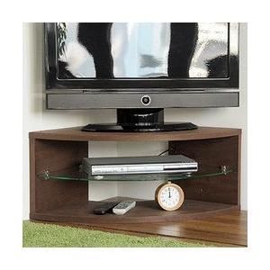 90ファン コーナーテレビ台 テレビボード 幅90 32型 37型 ウォールナット 送料無料|marukinkagu
