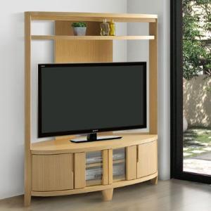 ピークス コーナーテレビボード テレビ台 ハイタイプ 幅125 32型 42型 配送設置|marukinkagu