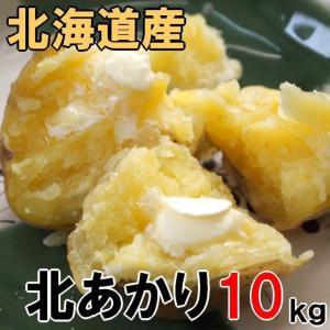 知床海洋ミネラル栽培品!新ジャガイモ【北あかり10kg】北海...