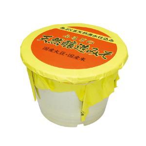 味噌 天然醸造 グルテンフリー 低糖質 糖質制限 ヴィーガン  10kgポリ樽|marumanjouzou