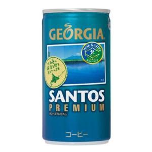 ジョージア サントスプレミアムコーヒー 185g缶×30本 marumanma