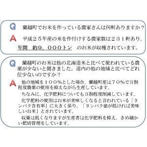 新米 ゆめぴりか 北海道産 10kg 国岡米 蘭越産 献上米 産地直送 令和2年度 5kg×2袋|marumanma|04