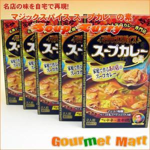 北海道スープカレー!札幌スープカレー旋風の火付け役ともなった、マジックスパイス!熱狂的ファンも多い、...