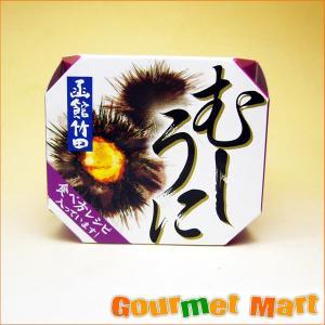 蒸しウニ(むしうに)缶詰め(雲丹 海栗)|marumasa-hokkaido