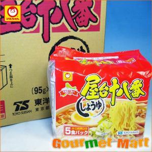 マルちゃん 屋台十八番 しょうゆ味 30食セット|marumasa-hokkaido