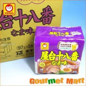 マルちゃん 屋台十八番 なま味しょうゆ 30食セット|marumasa-hokkaido