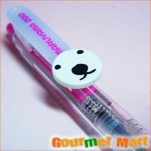 ピリカ ボールペン ピンク ホッキョクグマ marumasa-hokkaido