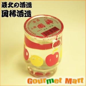 贈り物 ギフト 日本酒 国稀 清酒 上撰国稀カップ酒 180ml×30個 箱売り|marumasa-hokkaido