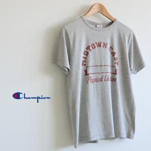 Champion チャンピオン カレッジプリント半袖Tシャツ C3-K316 メンズ トップス カットソー 半そで 1000830|marumiya-world