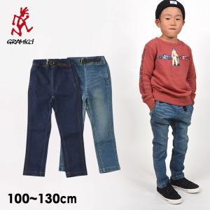 メール便可 グラミチ Kids DENIM NARROW PANTS キッズデニムナローパンツ 5017-DMJ-m14 キッズ ズボン シンプル アウトドア 子供服 GRAMICCI 4017246|marumiya-world