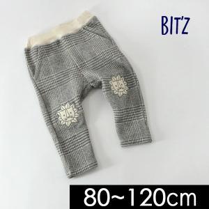 80cmマデメール便可 ビッツ B520018-M80 グレンチェック柄パンツ キッズ ベビー ズボン ボトム ボトムス ライオン Bitz 4019959 |marumiya-world