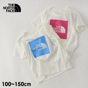 メール便可 ノースフェイス NTJ32026-15m UVケア半袖Tシャツ キッズ ジュニア トップス カットソー ブランドロゴ スクエアロゴ THE NORTH FACE 4022140|marumiya-world