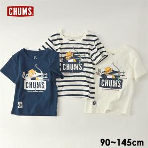 メール便可チャムス CH21-1137-mXLm Kids archery Boobyface T-shirt/キッズアーチェリーブービーフェイスTシャツ キッズ ベビー CHUMS 4022313|marumiya-world