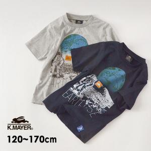 メール便可 クリフメイヤー 2049214K-15m17m スペースTEE(月) キッズ ジュニア ...
