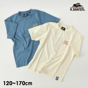 メール便可 クリフメイヤー 2049209K-14m17m UVカットサラロゴTEE キッズ ジュニ...