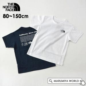 メール便可 ノースフェイス NTJ32143-13m15m S/S Historical Logo Tee/ヒストリカルロゴT キッズ ジュニア トップス THE NORTH FACE 4023974|marumiya-world