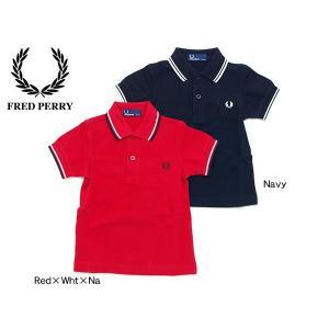 FRED PERRY(フレッドペリー)CHILDRENS POLO SHIRT SY1200 43854 キッズ ベビー 子供服 ベビー服 半袖ポロシャツ|marumiya-world
