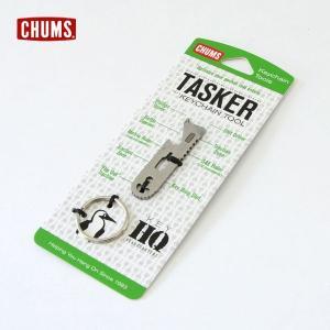 チャムス Tasker Keychain CH61-1064 メンズ レディース 栓抜き ドライバー ルーラー キーホルダー キーチェーン CHUMS 7007876 |marumiya-world