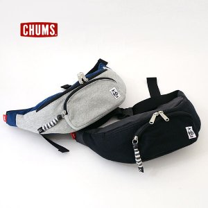 チャムス Fanny Pack Sweat Nylon CH60-0685-MG メンズ レディース ウエストポーチ バッグ カバン おしゃれ CHUMS 7007947 |marumiya-world