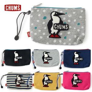 チャムス Medium Pouch Sweat CH60-2410 キッズ ジュニア レディース メンズ 化粧ポーチ 小物入れ ブービー キャラクター B6サイズ CHUMS 7007973 |marumiya-world