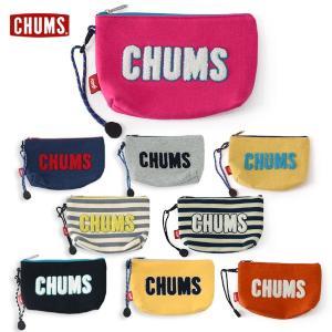 チャムス Little Pouch Sweat CH60-2411 キッズ ジュニア レディース メンズ ポーチ 小物入れ A6サイズ ロゴ CHUMS 7007974|marumiya-world